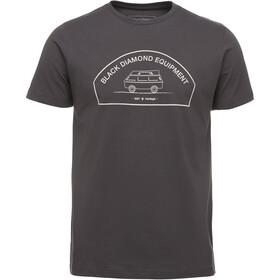 Black Diamond Rock Van - Camiseta manga corta Hombre - gris